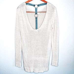 Millau Knit Sweater With Open Back